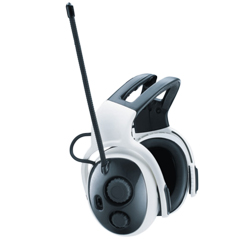 Casque-radio antibruit MSA Left/Right