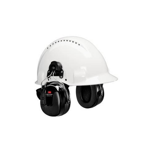 Casque radio AM/FM 3M PELTOR WorkTunes, monte sur casque