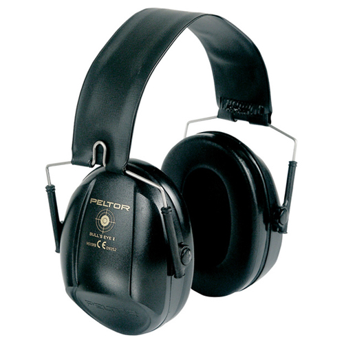 Casque antibruit peltor bull 39 s eye i snr 27 db for Peinture anti bruit efficacite