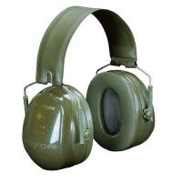 Casque antibruit Peltor Bull's Eye II/ vert, SNR 31 dB