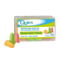 Quies Mousse Fluo 3 paires