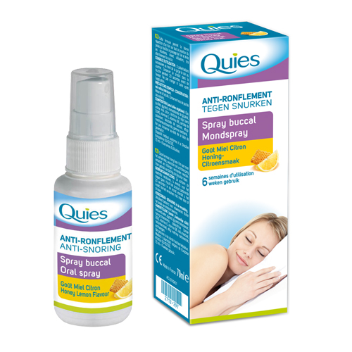 Quies Spray buccal anti ronflement