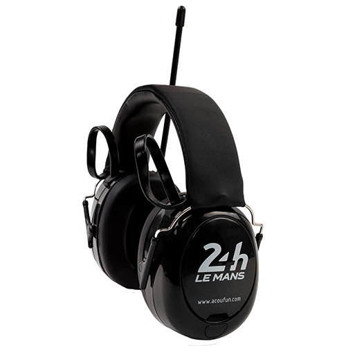 Acoufun Casque radio anti-bruit officiel 24H Le Mans